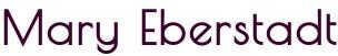 Mary Eberstadt logo